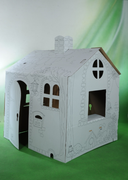 domek z papieru