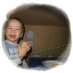 dziecko w domku